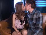Skinny Asian babe Akari Asahina pleases hunk in wild hardcore picture 13