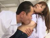 Young Minami Kojima fucked by her horny teacher picture 15