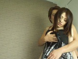 Alluring Asian milf Rino Mizusawa having her tight pussy ravaged picture 7