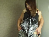 Alluring Asian milf Rino Mizusawa having her tight pussy ravaged picture 9