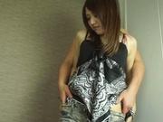 Alluring Asian milf Rino Mizusawa having her tight pussy ravaged