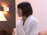 Kinky Asian AV model is oiled and gets fucked by horny masseur