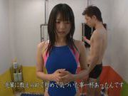 Attractive AV girl Tsubomi is screwed hard in the shower