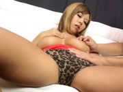 Blonde japanese hottie Nao Tachibana enjoys hardcoreasian women, asian babe}