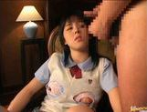 Japanese AV model beautiful Asian babe shows wet snatch picture 13