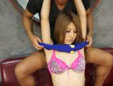 Rino Akane's tight teen pussy stretched open as she rides picture 8