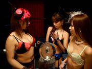 Sexy japanese model Riho Nanase gets hard fucked