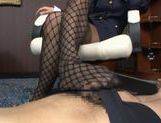 Risa Tsukino Hot Asian model is a wild horny stewardess picture 13