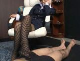 Risa Tsukino Hot Asian model is a wild horny stewardess picture 15