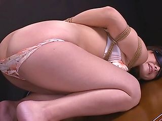 Hot bondage with mature Japanese in heat