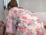 Voluptuous Shiori Kamisaki gets nasty in the tub