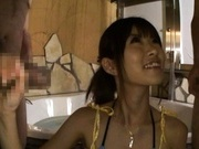 Miho Imamura is a sweet Japanese teen who loves giving hot blowjobs
