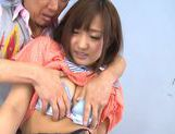 Luscious Japanese schoolgirl Miyo Arakawa is screwed roughhorny asian, japanese porn}