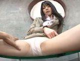 Naughty teen Aya Eikura likes playing with cock