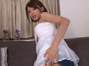Nice teen chick Yuuki Natsume cock sucking action