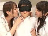 Yui Hatano likes to share in threesome sex