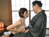 Mai Hanano Japanese milf fucks old man picture 9