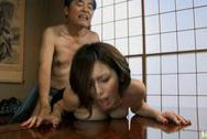 Mai Hanano Japanese milf fucks old manbig tits boobs, japanese tits