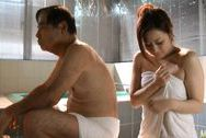 Yuu Kawakami Asian milf is bathing dirty old mansex tits, big tits porn