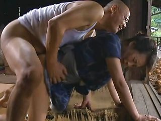 Japanese wife goes nasty on a stiff dong