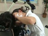 Hot Asian female dentist gets seduced and screwed hard picture 11