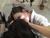 Hot Asian female dentist gets seduced and screwed hard picture 12