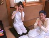 Akiho Yoshizawa Juicy Asian model is a wild nurse picture 12