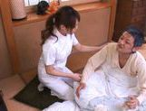 Akiho Yoshizawa Juicy Asian model is a wild nurse picture 14