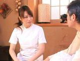 Akiho Yoshizawa Juicy Asian model is a wild nurse