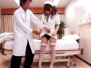 Yua Yoshikawa Beautiful Japanese nurse is a sexy chick