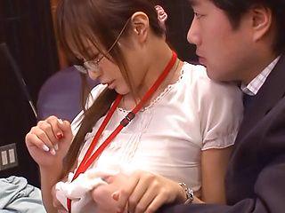 Pretty looking Japanese teen Yuu Namiki banged incredibly hard
