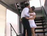 Shiza Kanno Naughty Asian babe is the president's wife