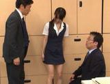 Hikaru Ayuhara Japanese doll is hot and cute sucking cock