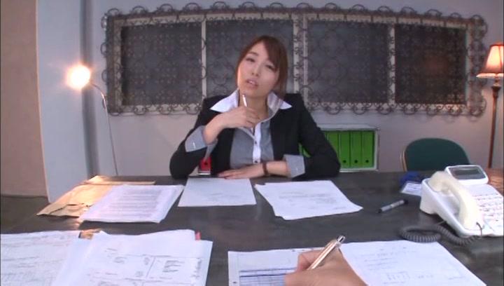 Leggy Japanese office babe Arisu Miyuki deepthroats her lover on povbig boobs, asian tits, asian boobs