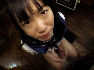 Hina Sakura Lovely Japanese babe gets analed in a toy game