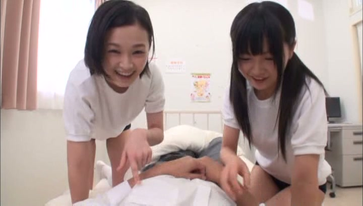 Kinky Tokyo schoolgirls gets pleasure of threesome sex action picture 12