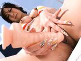 Ayami Pretty Japanese milf gives a hot blowjob