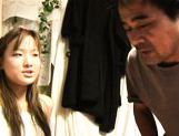 Seira Takahashi Lovely Asian model has a juicy shaved pussy