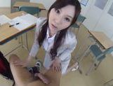 Yui Tatsumi likes to play naughty and wild picture 13