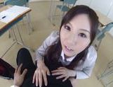 Yui Tatsumi likes to play naughty and wild picture 9