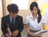 Shameless Japanese teacher Mira Tamana fucked by horny guys