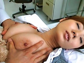 Yuma Asami is a sexy Asian chick with giant boobs that look so fuckable