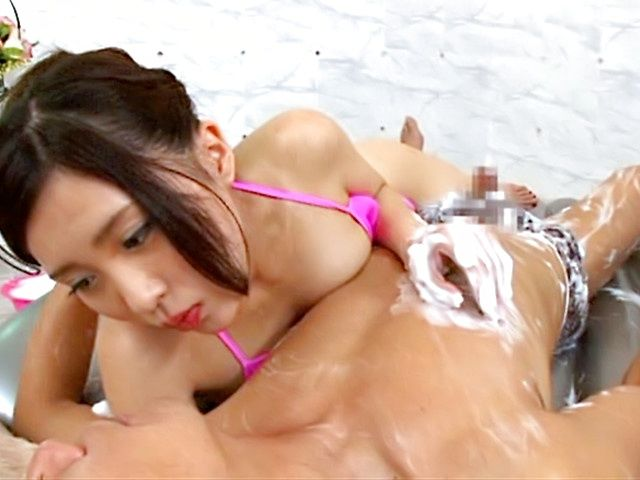 POV hand work by sexy Asian lady Rin Sakuragi
