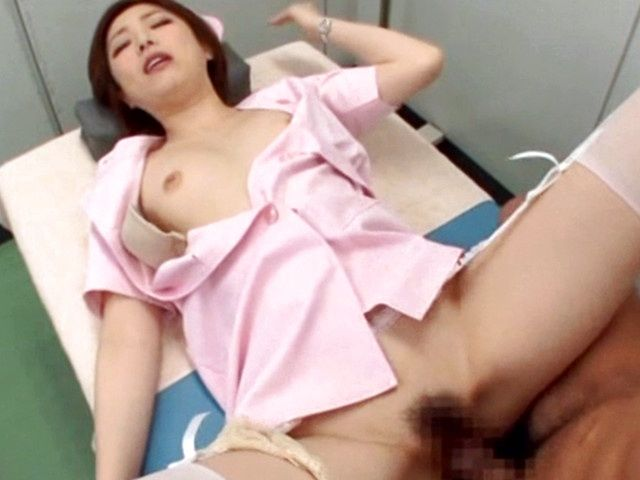 Ai Haneda hot Asian chick rides on cock!