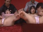 Hitomi Fujiwara and friend hot teens get anal penetration