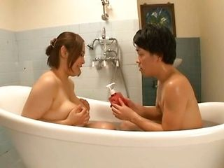 Reiko Yumeno hot mature Asian chick gets tits fucked