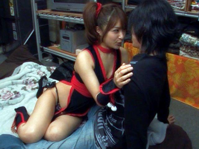 Mihiro Lovely Japanese model enjoys crazy sex