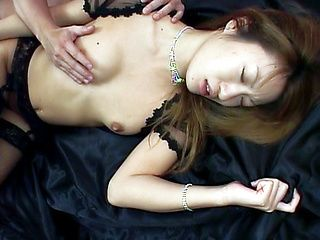 Nozomi Ran Lovely Asian model is hot for sex