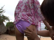 Gorgeous Kirara Asuka Gets Fucked While On The Beach