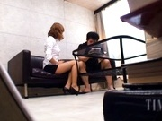 Kirara Asuka Asian office worker gets fucked hard